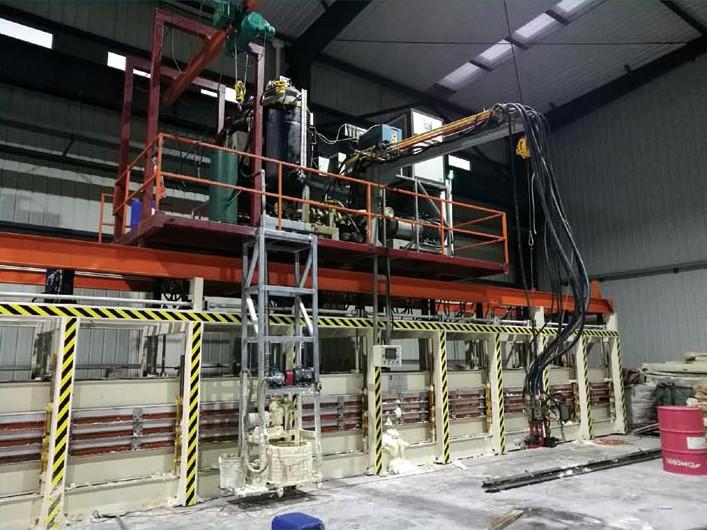 康维特非连续板材生产线